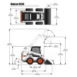 Bobcat S530 dimension e1537992277403