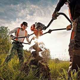 Stihl BT360 work e1595320455577