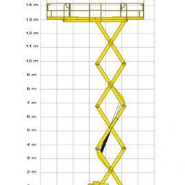 haulotte h15sxl measures