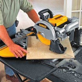 DeWalt D24000 Wet Tile Saw 3